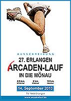 27. Erlangen Arcaden-Lauf in die Mönau